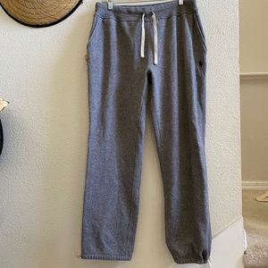 POLO RALPH LAUREN gray sweatpants joggers M